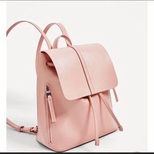 Zara Basic Collection pale pink Bag